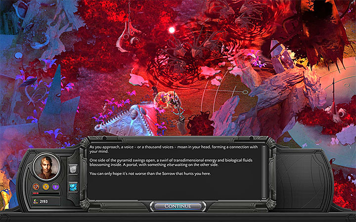 The main character must reach the feretory - How to escape the Miel Avest Sanctuary? - Puzzles and additional activities - Torment: Tides of Numenera Game Guide