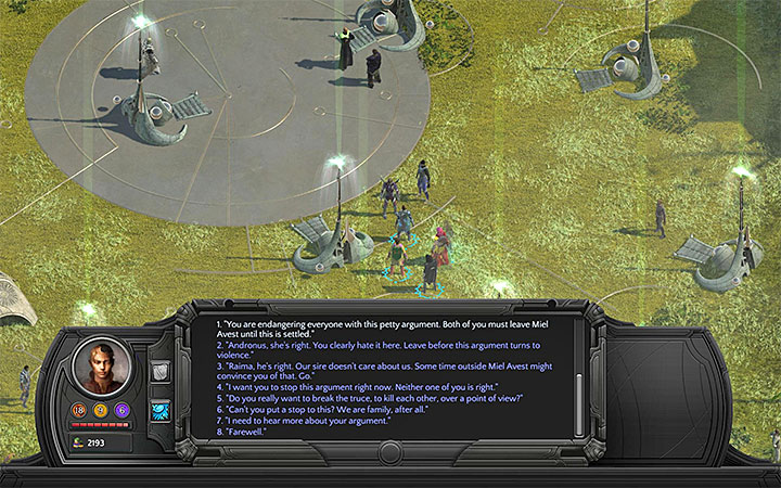 Solve the situation any way you like - The Sanctuary of Miel Avest - main quest walkthrough | Miel Avest - Miel Avest Sanctuary - Torment: Tides of Numenera Game Guide