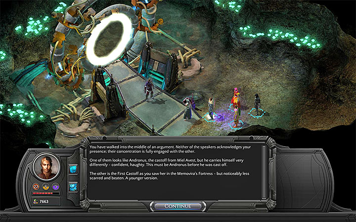 Speak to the First Castoff and the Changing God - The Right To Exist - main quest walkthrough | The Finale - The Finale - Torment: Tides of Numenera Game Guide
