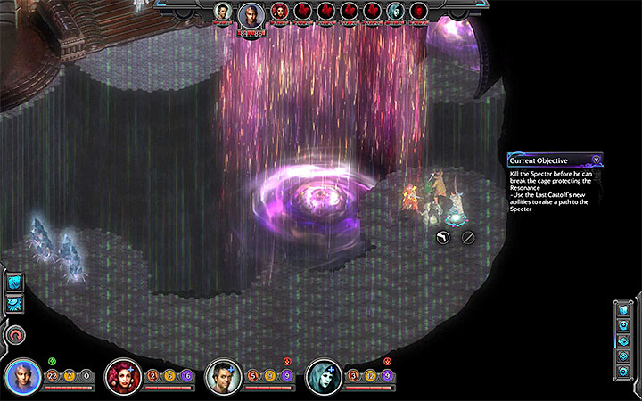 Use Raise Floor to build a path to the Specter - The Right To Exist - main quest walkthrough | The Finale - The Finale - Torment: Tides of Numenera Game Guide