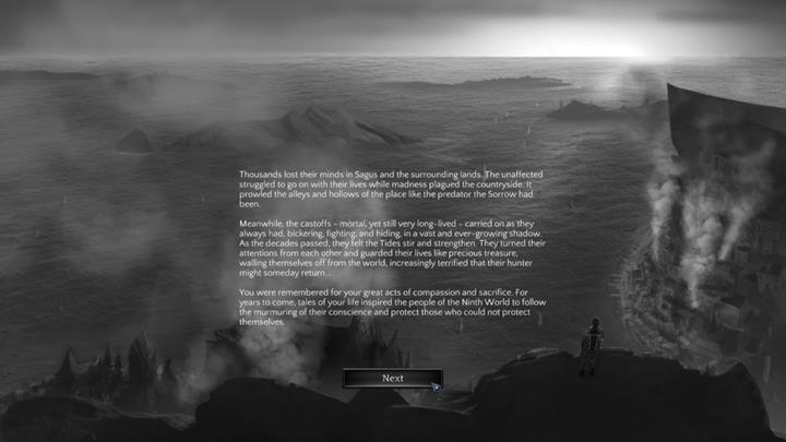 The epilogue will inform you of the shape of the world in the aftermath of your decisions. - All Endings in Torment: Tides of Numenera - Endings - Torment: Tides of Numenera Game Guide