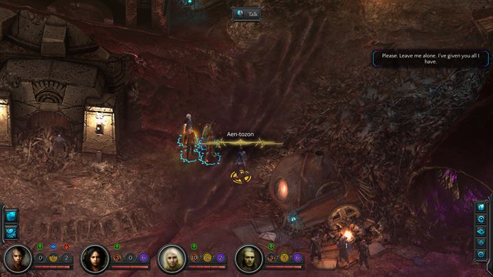 Talk with the being so that Rhin can create a bond - Rhins quest | Companion quests - Companion quests - Torment: Tides of Numenera Game Guide