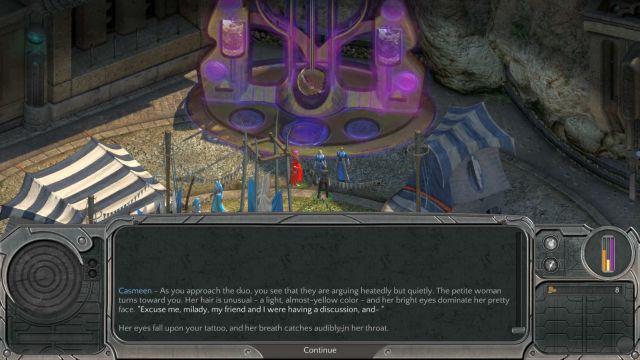 Fallen To Earth - main quest walkthrough - Torment: Tides ...