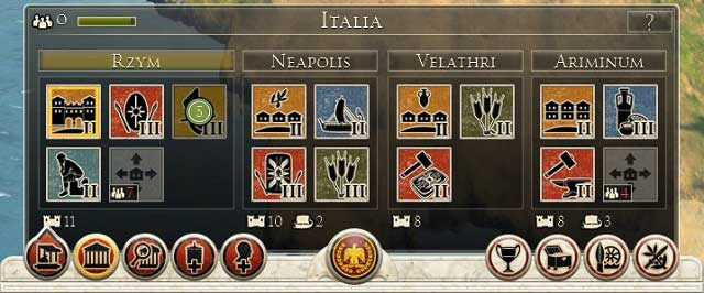 Sample provinces   Strategic map - Total War: Rome II Game ...