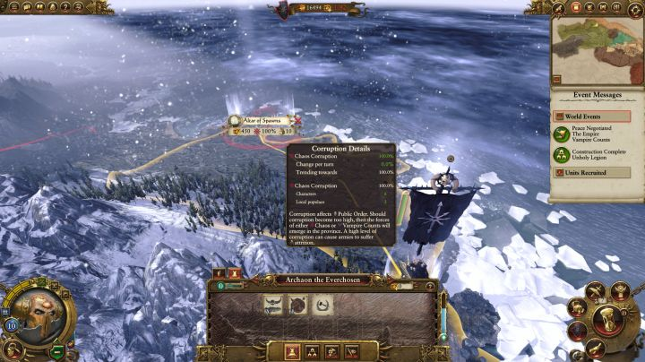Total War Warhammer Can T Upgrade Main Building