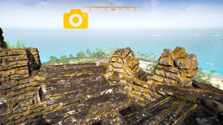The places that you are supposed to photograph are marked with a yellow camera icon. - General Tips for Treasure Hunter Simulator - Basics - Treasure Hunter Simulator Guide