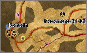 Necromancer's Hut location - Northern Border - Quests - Two Worlds - Game Guide and Walkthrough