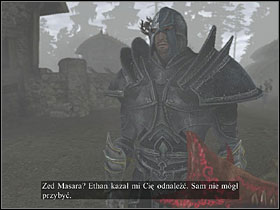 This mission is about retrieving certain documents from Zed Masara in Gorelin - Karga camp - Quests - Two Worlds - Game Guide and Walkthrough