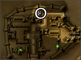 This quest can be found in a house in northern part of the city (look at the map to the left) - Ashos - Quests - Two Worlds - Game Guide and Walkthrough
