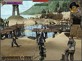 Verno is standing in the central part of the village - Clovelly - Quests - Two Worlds - Game Guide and Walkthrough