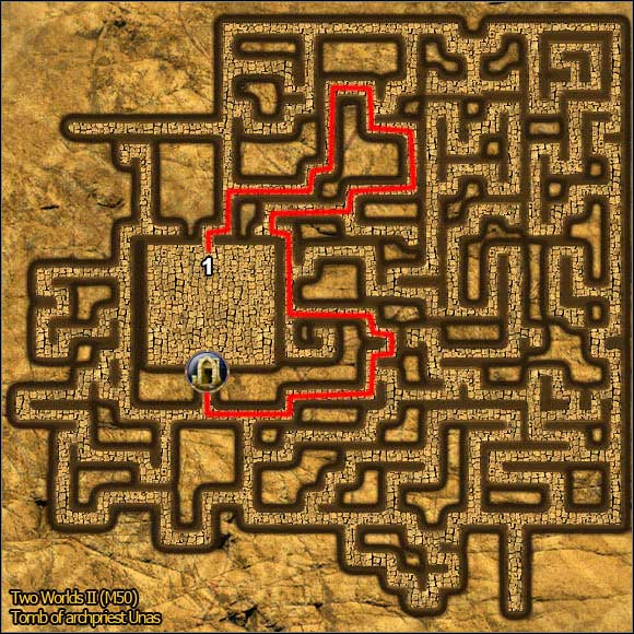 4 - Tombs - p. 2 - Maps - Two Worlds II - Game Guide and Walkthrough