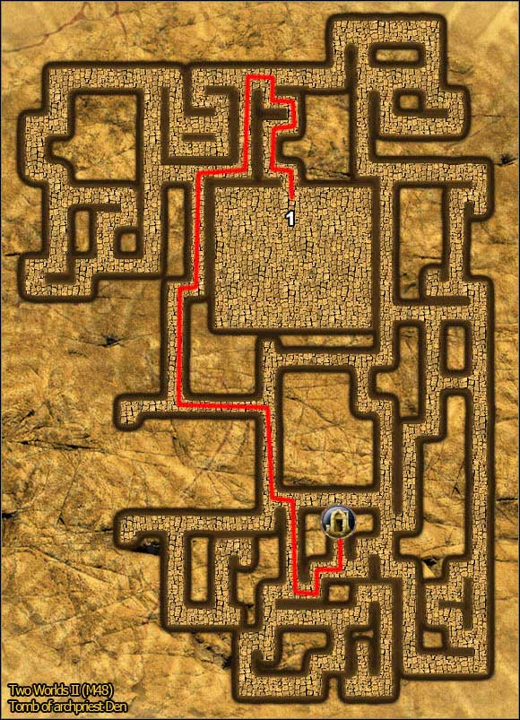 2 - Tombs - p. 2 - Maps - Two Worlds II - Game Guide and Walkthrough