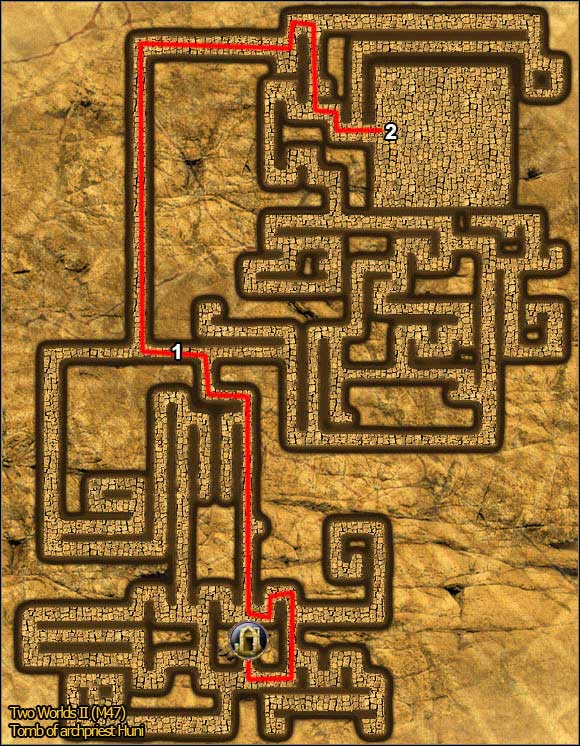 1 - Tombs - p. 2 - Maps - Two Worlds II - Game Guide and Walkthrough