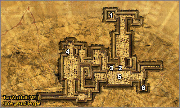 1 - Desert | Quests Maps - Maps - Two Worlds II Game Guide