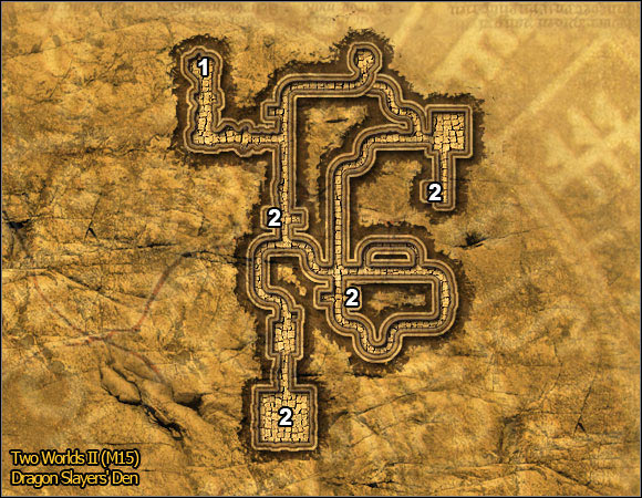 3 - Hatmandor Region - p. 1 | Quests Maps - Maps - Two Worlds II Game Guide