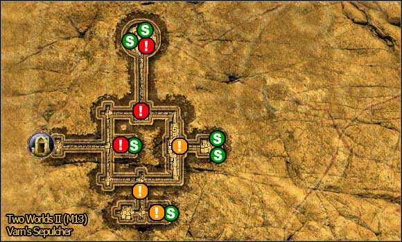 6 - Savannah - northern part - Maps - Two Worlds II - Game Guide and Walkthrough