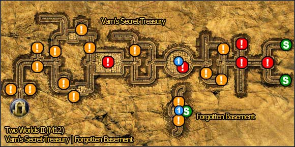 5 - Savannah - northern part - Maps - Two Worlds II - Game Guide and Walkthrough