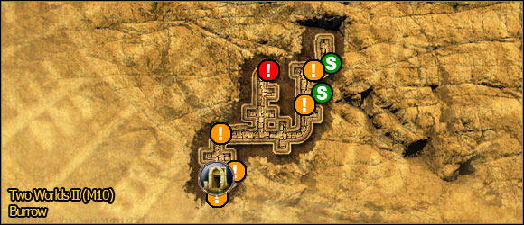 3 - Savannah - northern part - Maps - Two Worlds II - Game Guide and Walkthrough