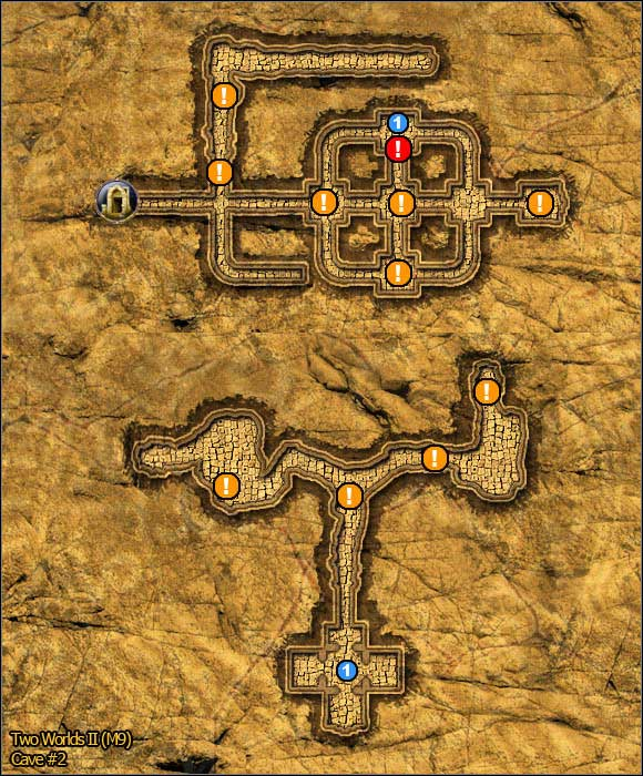 2 - Savannah - northern part - Maps - Two Worlds II - Game Guide and Walkthrough