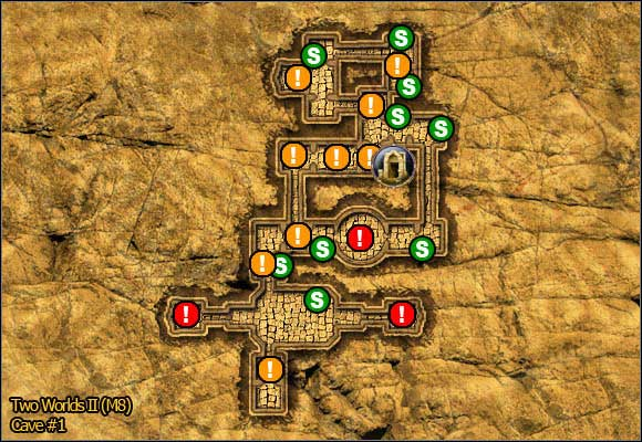 1 - Savannah - northern part - Maps - Two Worlds II - Game Guide and Walkthrough