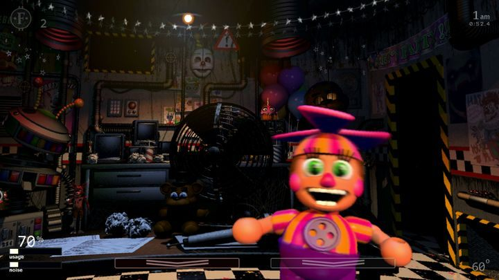 Animatronics not listed in the menu of Ultimate Custom Night