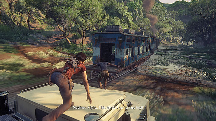 Image result for uncharted lost legacy end of the line