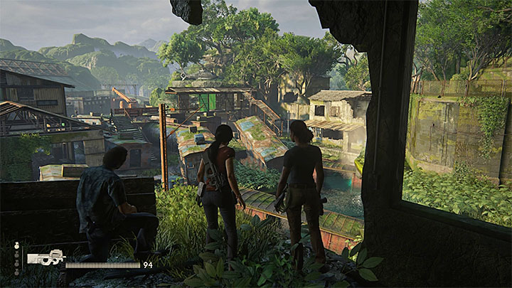 The opportunity to score this trophy appears in the final part of the eight chapter of the game (Partners), during your attempt to retrieve the Tusk from the hands of Shoreline mercenaries - Right Under Your Nose | Trophy Guide - Trophy Guide - Uncharted: The Lost Legacy Game Guide