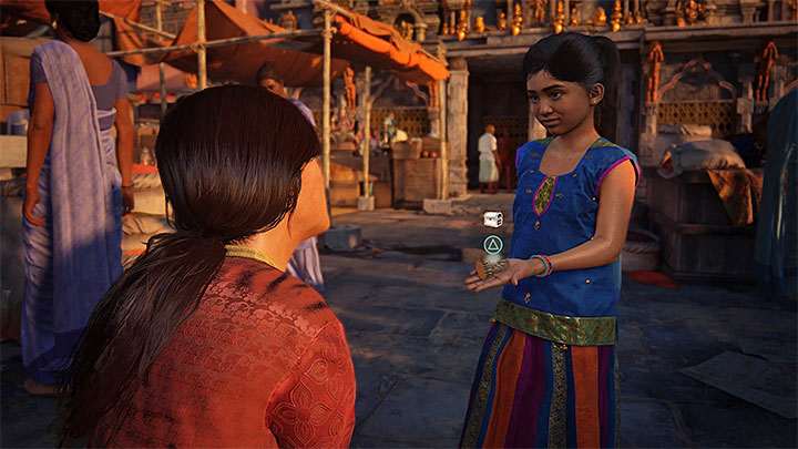 Retrieve the figurine stolen by Meenu - 0 - Prologue | Walkthrough - Walkthrough - Uncharted: The Lost Legacy Game Guide