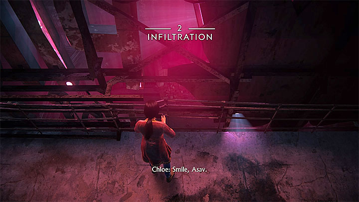 Shortly after starting the chapter you must go to the part of the rooftop presented in the picture above - 2 - Infiltration | Walkthrough - Walkthrough - Uncharted: The Lost Legacy Game Guide