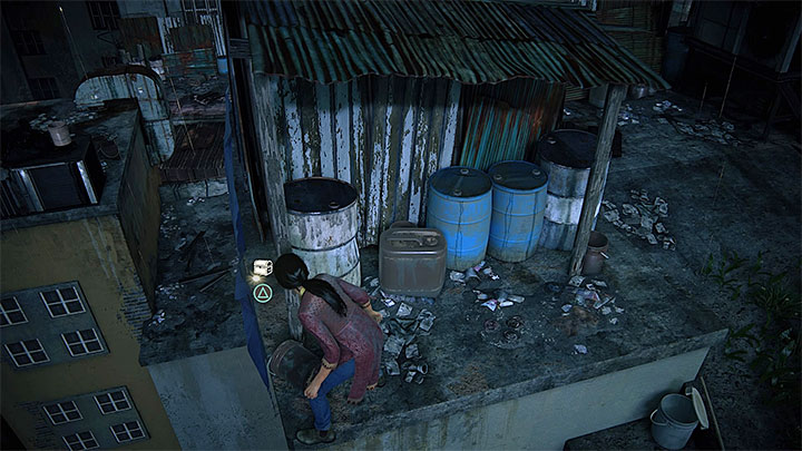Soon, you will reach a part of the roof with tall grass - 2 - Infiltration | Walkthrough - Walkthrough - Uncharted: The Lost Legacy Game Guide