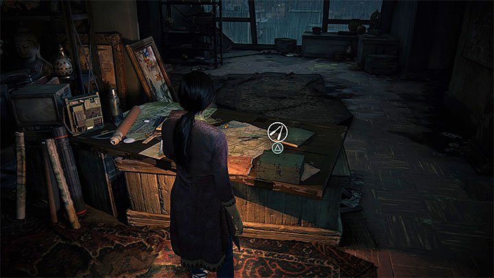 Picking the lockbox should be your last action because this ends your exploration of the attic and plays a cut-scene during which you will meet with Asav - 2 - Infiltration | Walkthrough - Walkthrough - Uncharted: The Lost Legacy Game Guide