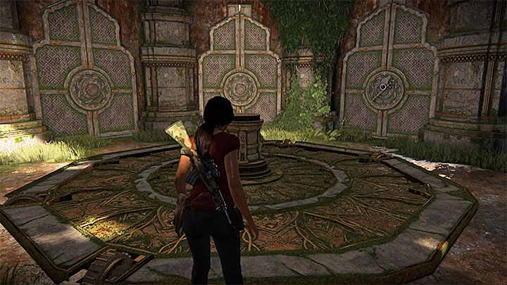 The room with vantage points and a lift - 4 - Reaching the tower | Walkthrough - Walkthrough - Uncharted: The Lost Legacy Game Guide
