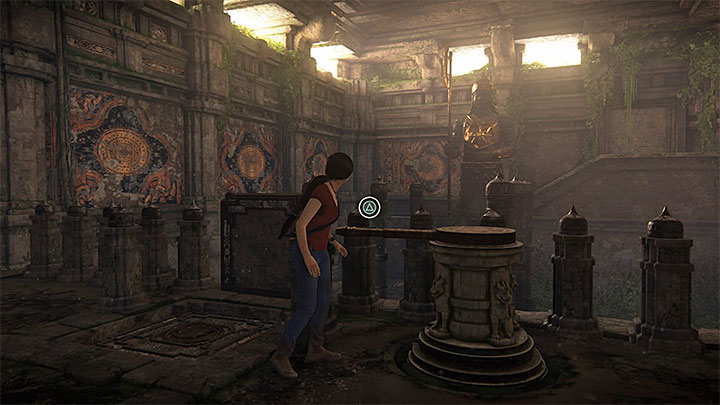 First platform room - 4 - Shivas Fort (Axe) | Walkthrough - Walkthrough - Uncharted: The Lost Legacy Game Guide