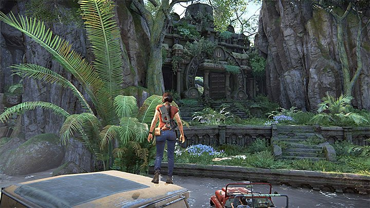 Ganeshas fortress is located in the south eastern part of the map - 4 - Ganeshas Fort (Trident) | Walkthrough - Walkthrough - Uncharted: The Lost Legacy Game Guide
