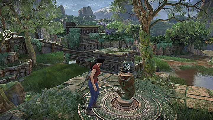 Token 4/11 is hidden in the extensive ruins neighboring the tower that serves as a vantage point for the whole Western Ghats - 4- Hoysalas Tokens and the Queens Ruby | Walkthrough - Walkthrough - Uncharted: The Lost Legacy Game Guide