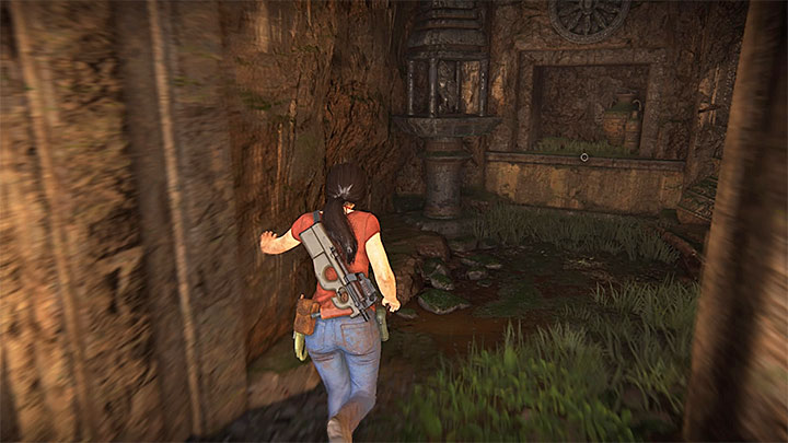 Token 7/11 is located in the ruin containing the stony map described in the first paragraph - 4- Hoysalas Tokens and the Queens Ruby | Walkthrough - Walkthrough - Uncharted: The Lost Legacy Game Guide