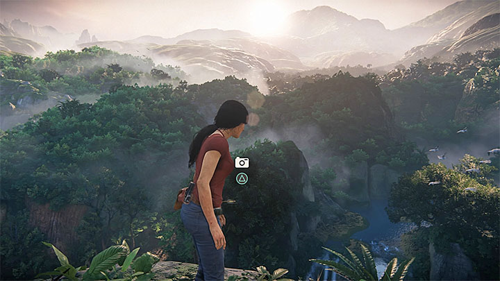 You can take a picture immediately after beginning the chapter - 3 - Homecoming | Secrets - Secrets - Uncharted: The Lost Legacy Game Guide