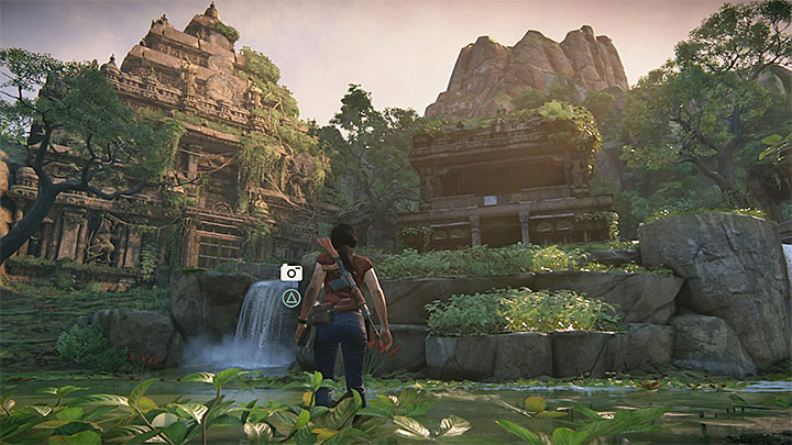 The last picture has to be taken in the large ruins - 3 - Homecoming | Secrets - Secrets - Uncharted: The Lost Legacy Game Guide