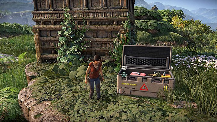 This treasure can be found while you are searching for one of the lockboxes - 4 - Treasures in Wester Ghats | Secrets - Secrets - Uncharted: The Lost Legacy Game Guide