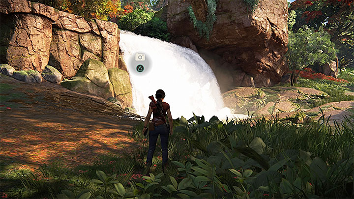 You get this photo opportunity in the Northern part of the map, close to fort Shiva - 4 - Photos, optional conversations and lockboxes in Wester Ghats | Secrets - Secrets - Uncharted: The Lost Legacy Game Guide