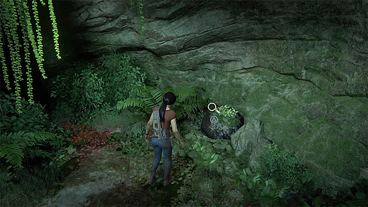 This conversation can be initiated during the later part of the climb, shortly after using a narrow mountain path and reaching a small cave - 5 - The Great Battle - All secrets - Secrets - Uncharted: The Lost Legacy Game Guide