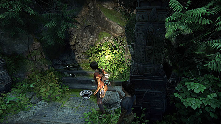 The path across the underground is linear, at first - 6 - The Gatekeeper | Walkthrough - Walkthrough - Uncharted: The Lost Legacy Game Guide