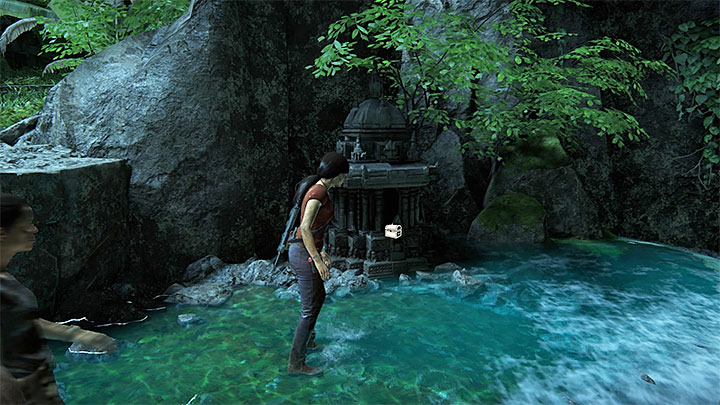 One of the treasures can be found in a small shrine - 6 - The Gatekeeper | Walkthrough - Walkthrough - Uncharted: The Lost Legacy Game Guide