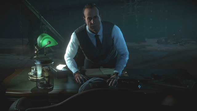 Dr Hill - notice the snake in the jar and the syringe on the desk - its part of players choice - The analyst | General advices - General advices - Until Dawn Game Guide & Walkthrough