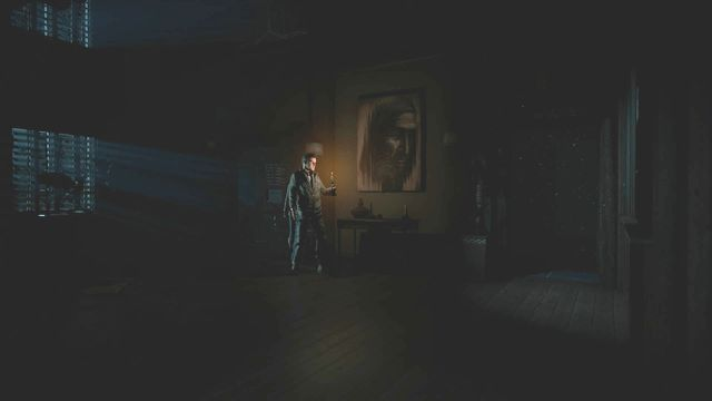 The door on the right from the library (from players perspective) will open - Episode 3 | Walkthrough - Walkthrough - Until Dawn Game Guide & Walkthrough