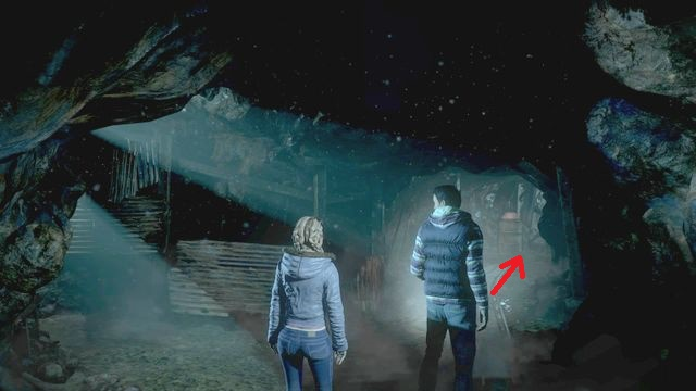 Another totem that Mike finds - Episode 2 | Clues and totems - locations - Clues and totems - locations - Until Dawn Game Guide & Walkthrough