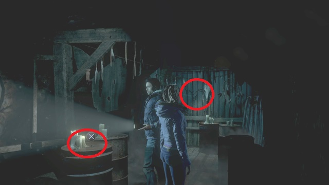 You can find both of the collectibles as Mike, in the mine, after you climb the stairs and examine the recess on the right - Episode 2 | Clues and totems - locations - Clues and totems - locations - Until Dawn Game Guide & Walkthrough
