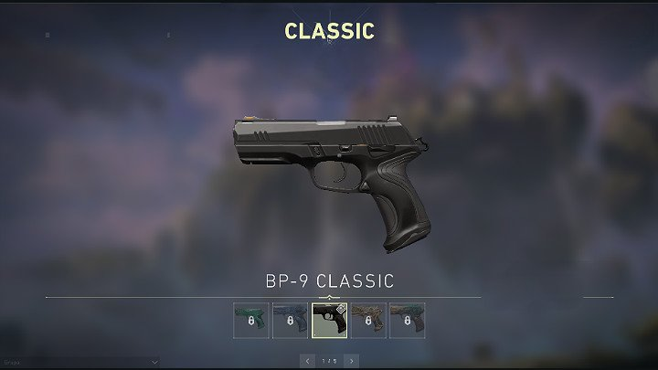 Классик также имеет альтернативный режим стрельбы (RMB) - Valorant: Руководство по оружию Sidearm - Classic, Shorty, Frenzy, Ghost, Sheriff - Оружие - Руководство Valorant