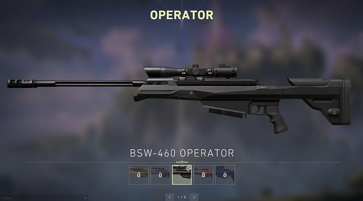 Оператор имеет 5 патронов в магазине и требует ручной перезарядки после каждого выстрела - Valorant: Руководство по снайперскому оружию - Marshal, Operator - Оружие - Руководство Valorant