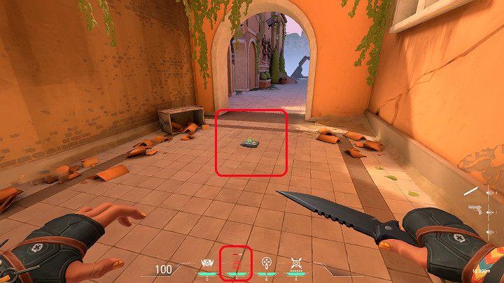 На скриншоте, представленном выше, вы можете заметить взрывчатку Blast Pack - Valorant: Raze (Duelist) - навыки, особенности, советы - Персонажи - Руководство Valorant